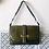 Thumbnail: Olive Green Artigiani Veneziani Italian Two Way Bag