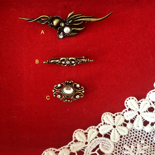 Vintage Brooches- Collection 3