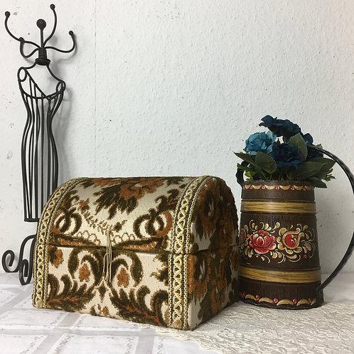 Old Tapestry Vanity Box