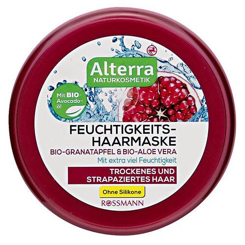 Alterra Organic Pomegranate & Aloe Vera Moisturizing Hair Mask 有機紅石榴蘆薈保濕髮膜