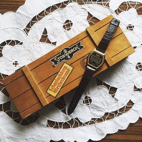 Vintage ERES Quartz  Digital Unisex Dress Wristwatch