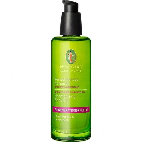 Primavera Organic Rose & Osmanthus Harmonizing Body Oil 有機玫瑰桂花滋養按摩油