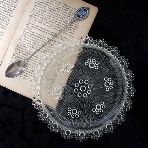 Art Deco Glass Bonbonniere / Glass Dish