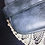 Thumbnail: Mid Century Blue Grey Cosmetic Case / Jewelry Box