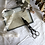 Thumbnail: Antique Art Deco Ornate Scissor Style Candle Snuffer / Wick Snips