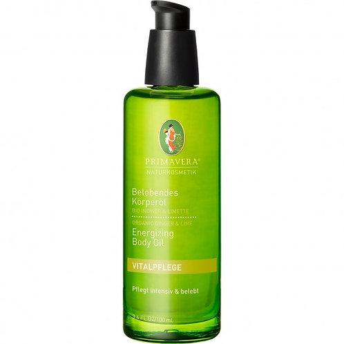 Primavera Orangic Ginger & Lime Energizing Body Oil 有機薑青檸活力按摩油
