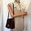 Thumbnail: Assima Vintage Leather Suede 2 ways Bag