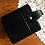 Thumbnail: Mid Century Black Cosmetic Case / Jewelry Box