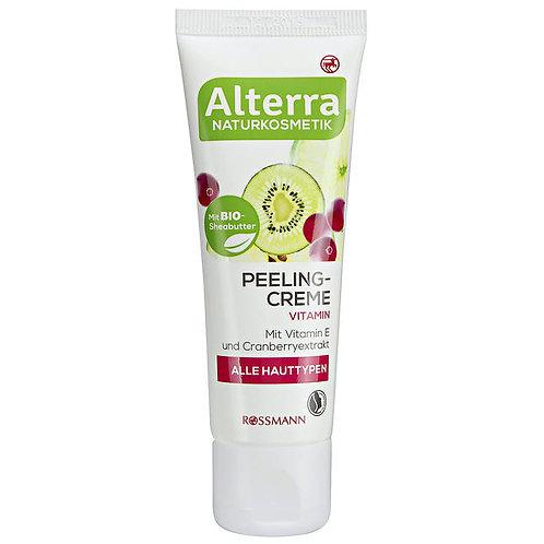 Alterra Vitamin Peeling Cream 有機蔓越莓去角質磨砂膏