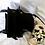 Thumbnail: 80s Vintage Leather Utility Black  Satchel Bag