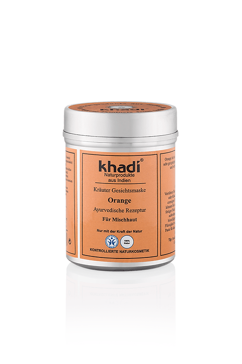 Khadi 阿育吠陀草本橙去角質面膜