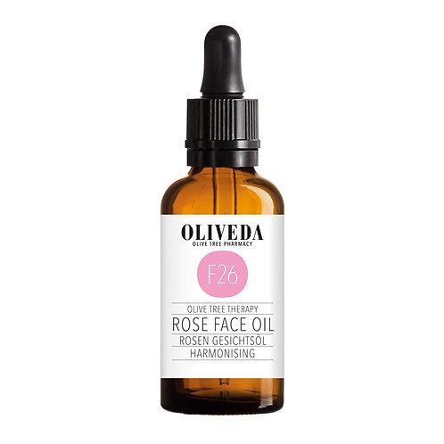 OLIVEDA Rose Face Oil - Harmonizing F26 橄欖玫瑰協調精油