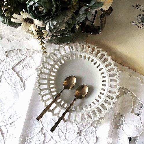 Brass Cutlery Set by Sigvard Bernadotte, Scanline, 1950s