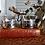 Thumbnail: Vintage German Tea/Coffee Glasses with Holders