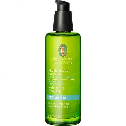 Primavera Organic Refreshing Mint & Cypress Body Oil 有機薄荷柏樹清新按摩油