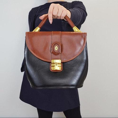 Vintage David Jones Two Case Envelope Handbag