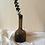 Thumbnail: Vintage Handmade Brown Glass Vase