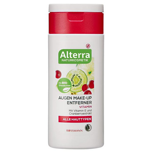 Alterra Make-up Removing Cleansing Water 有機蔓越莓卸妝水