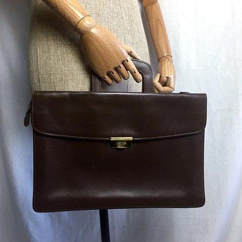 Vintage Genuine Leather Briefcase