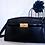 Thumbnail: Vintage  Conti Osvaldo Black Leather Shoulder Bag