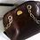 Thumbnail: Vintage Italian PANCALDI 1888 Mock Croc  Leather Handbag