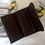Thumbnail: Vintage Dark Brown Leather Ladies Wallet