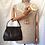 Thumbnail: 50s VintageDark Brown Leather Handbag