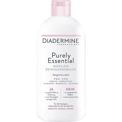 Diadermine Purely Essential Micellar Cleansing Milk 純淨潔臉乳