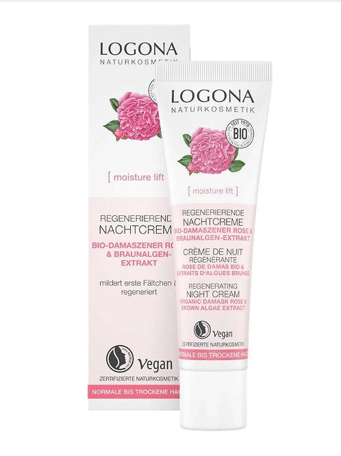 Logona 有機大馬士革玫瑰褐藻滋潤晚霜