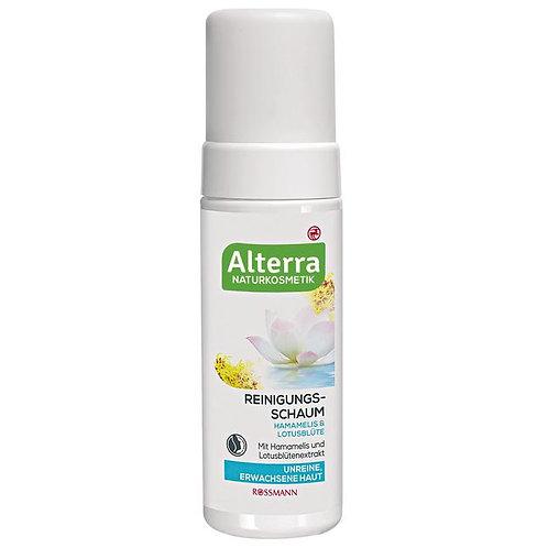 Alterra Organic Witch Hazel & Lotus Flower Cleaning Foam 有機金縷梅蓮花潔臉泡沫