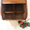 Thumbnail: Vintage Bbeechwood  Roll Top Storage Box / Office Organizer