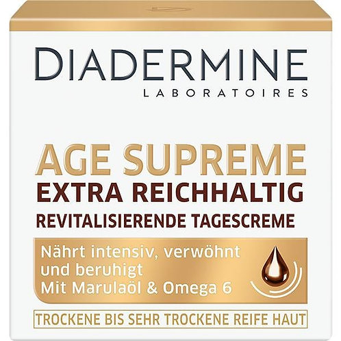 Diadermine Age Supreme Extra Rich Revitalizing Day Cream 活膚滋養抗皺日霜