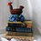 Thumbnail: Vintage Small Wicker Rooster Basket