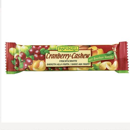 Rapunzel Bio 有機蔓越莓腰果切片能量棒