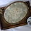 Thumbnail: Antique German Floral Tapestry Oval Doily