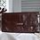 Thumbnail: Vintage  Leather Clutch Dark Brown
