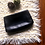 Thumbnail: Vintage Dark Blue Leather Pouch