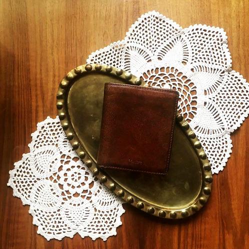 Vintage German Maître Genuine Leather Billfold Wallet