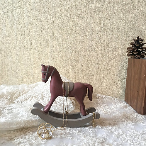 Small Wooden Rocking Horse