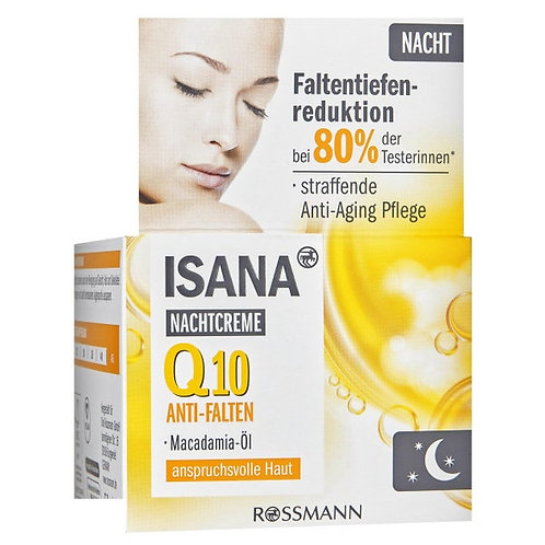 ISANA Q10 Anti Wrinkle Night Cream 輔酶Q10抗皺晚霜