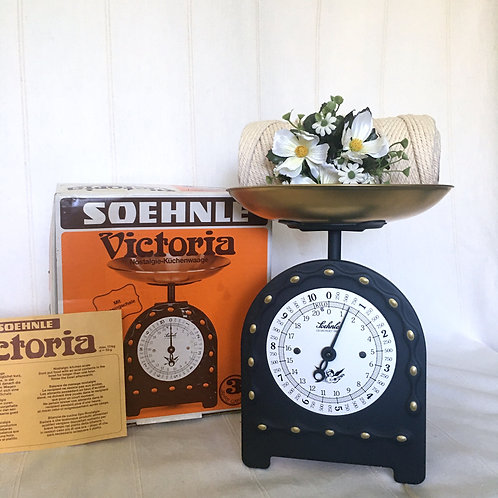 Vintage German Soehnle Kitchen Scale