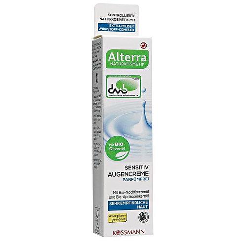 Alterra Perfume-free Eye Cream Sensitive 敏感肌專用有機眼霜