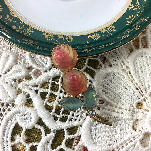 Vintage Roses Brooch