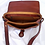Thumbnail: Vintage Fiocchi Lecco Brown Genuine Leather Handbag / Shoulder Bag