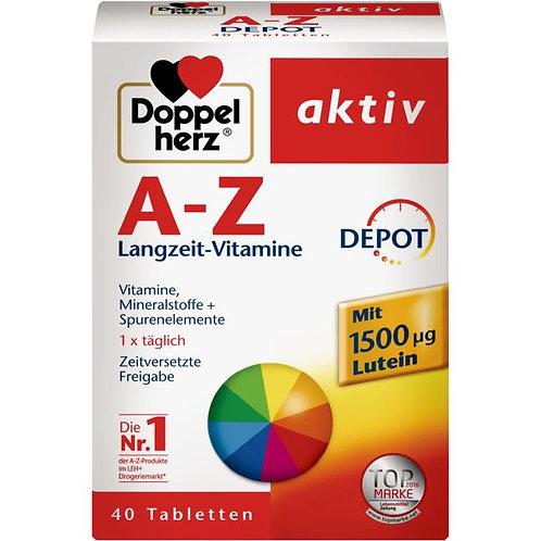 Doppelherz aktiv A-Z 雙心牌維他命A-Z 營養片