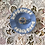 Thumbnail: 50s Wreath Brooch with Flowers and Pearls