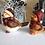 Thumbnail: Pair of Handpainted Ceramic Bird Figurines