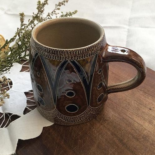 Vintage Handmade German Rastal 1984 Salt GlazedBeer Stein / Mug