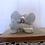 Thumbnail: Porcelain Love Doves Figurine