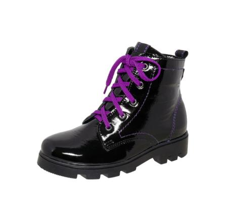 4-1176 чёрный-фиолетовый